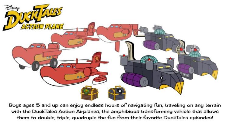 DUCKTALES Action Plane