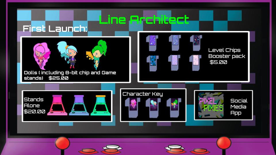 Line Architect First Launch