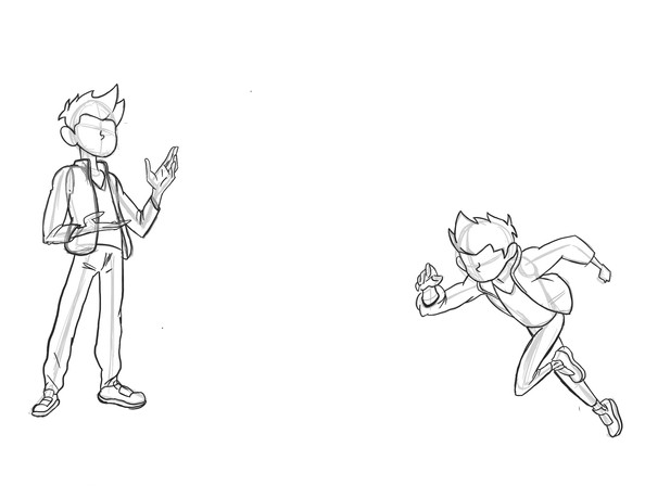 Chase Concept/sketches