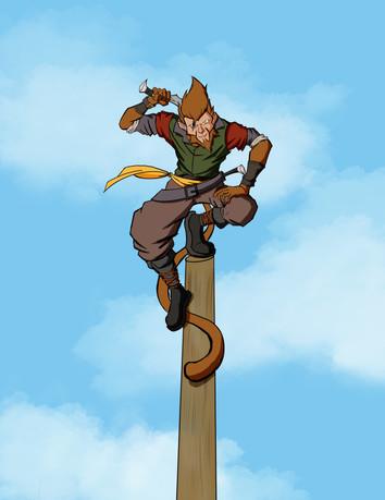 Wu (the pirate Monkey)