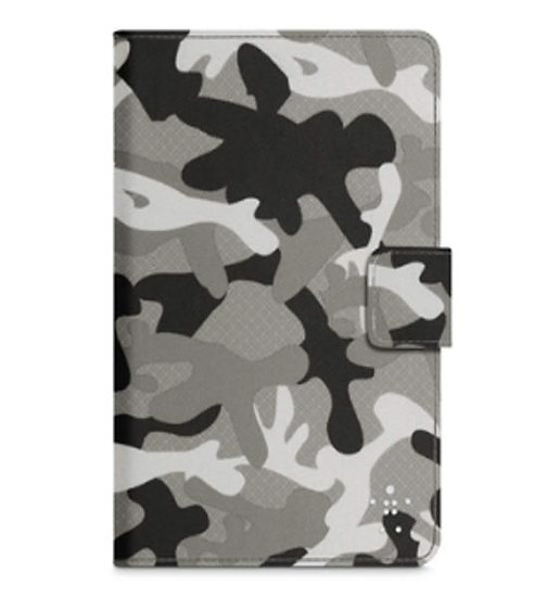 Belkin Camouflage Cover With Stand Case For Ipad Mini In Gray