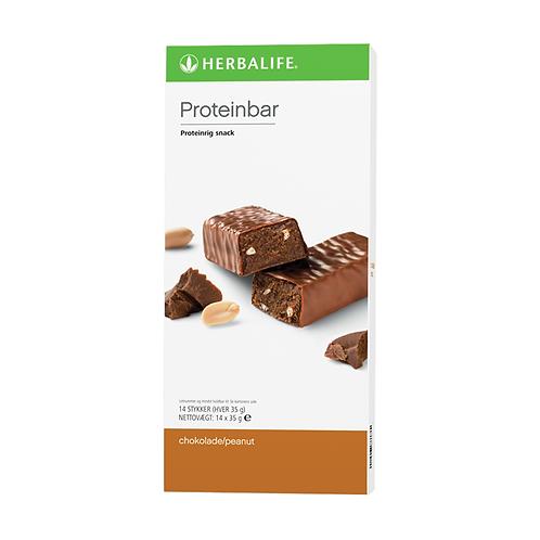 Proteinbarer Chokolade/peanut 14 barer pr. æske