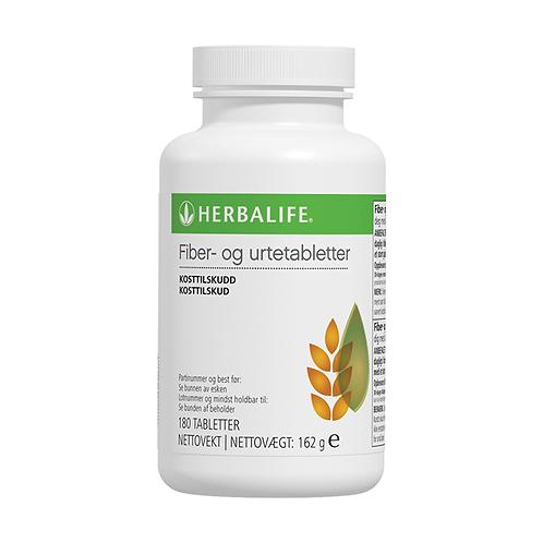 Fiber- og urtetabletter 180 tabletter