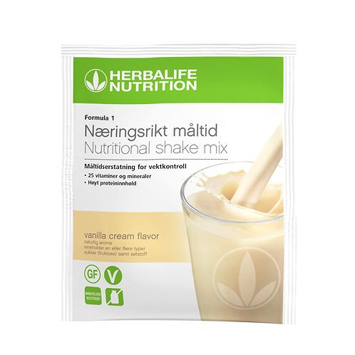 Formula 1 New Generation Vanilla Cream Pakke á 7 breve