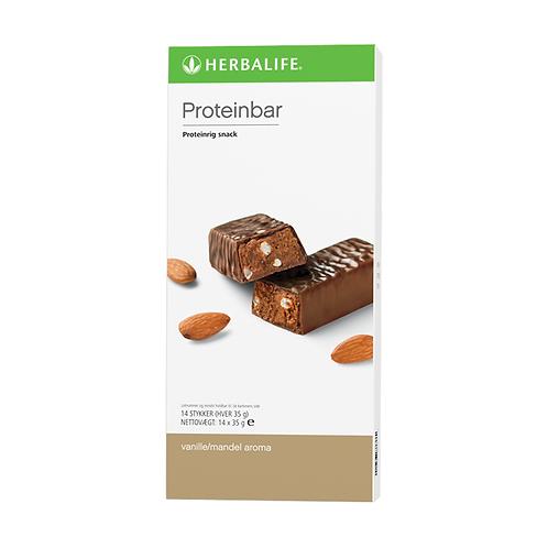 Proteinbarer Vanille mandel 14 barer pr. æske