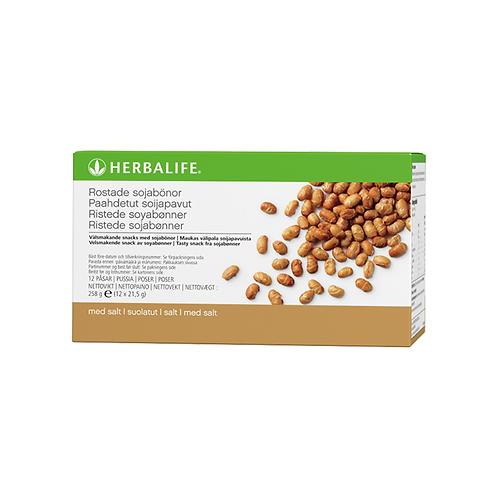 Ristede sojabønner 12 pr. kasse 21,5 g