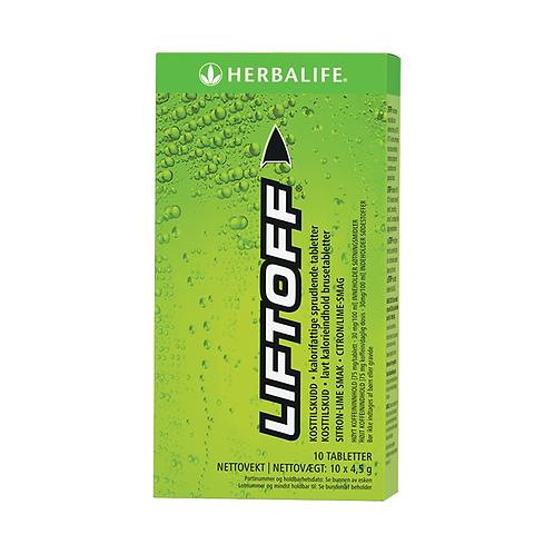 LiftOff™ Citron-lime 10 tabletter pr. æske