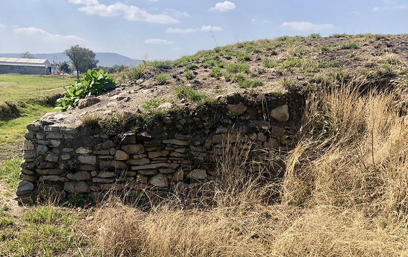 Ixtepete E III: eastern wall