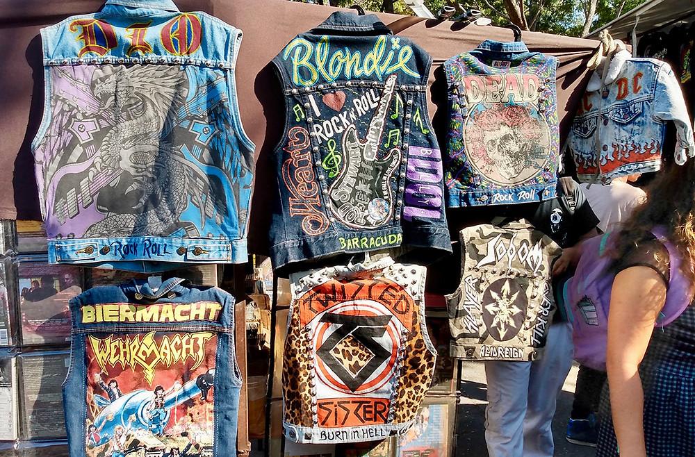 tianguis cultural flea market rock and roll waistcoats