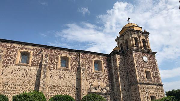 Parroquia Santiago Apostol church tequila