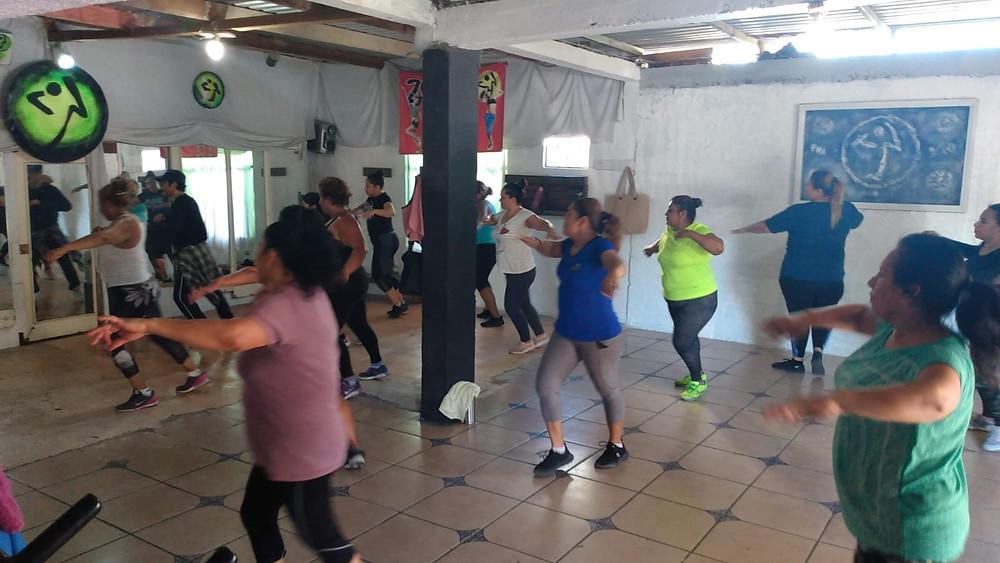Zumba La Paz dancers
