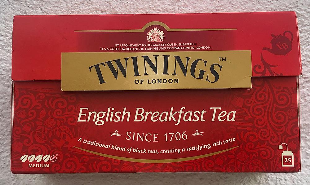 twinnings tea bags box