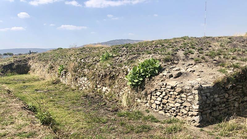 Ixtepete E III: southern wall