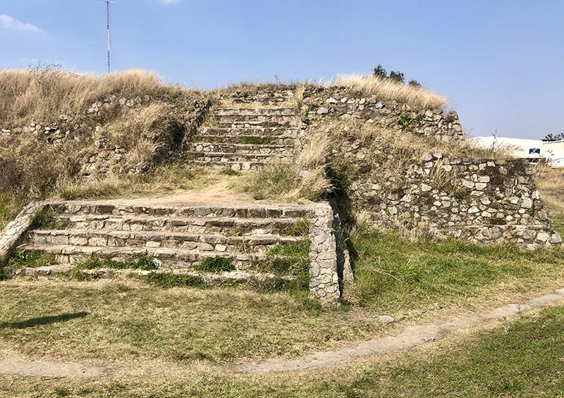 ixtepete Pyramid SE corner facing north