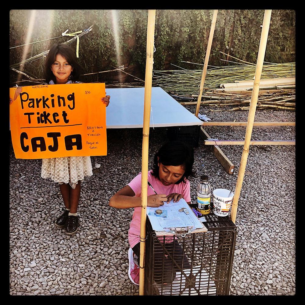 children parking business