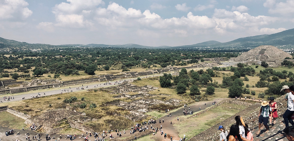 Teotihuacan  Moon Pyramid and Avenue of the Dead