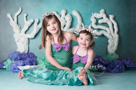 """L'anniversaire de Meïly et Lissya, """"Underwater party"""""""