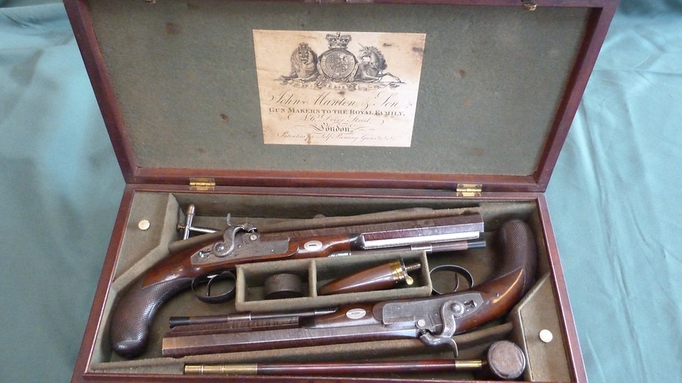 John Manton Duelling Pistols