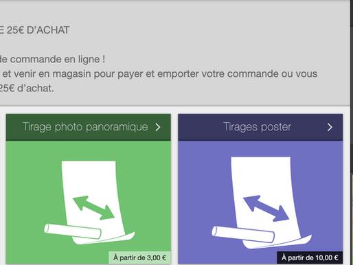 Nouveau service de livraison gratuite de vos tirages photos à Toulouse