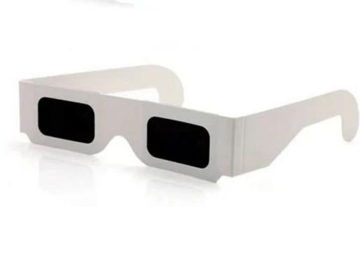 Lunettes d'éclipses - Lunettes de protection spéciales éclipses