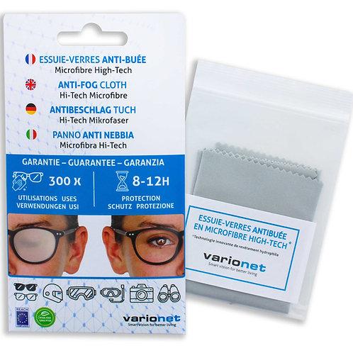 Essuie-verres anti-buée en microfibre high-tech Varionet - 300 utilisations