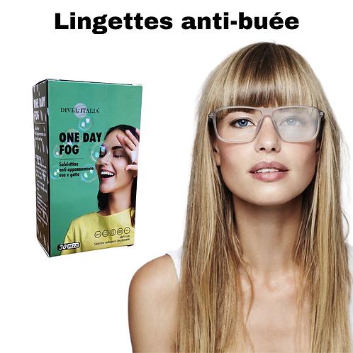 Lingettes anti-buée pour lunettes
