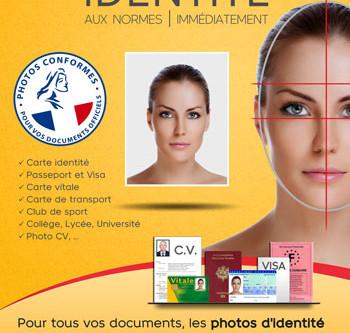Vos photos d'identité passeport, visa et CV par un photographe pro, à Toulouse, quartier Borderouge