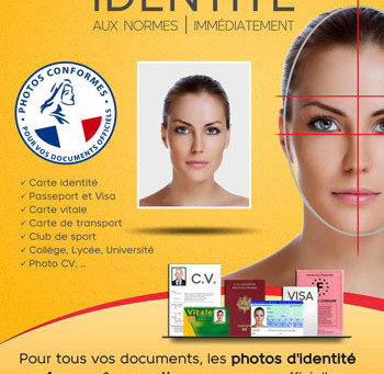 Vos photos d'identité passeport, visa et CV par un photographe pro, à Toulouse, quartier Borderouge