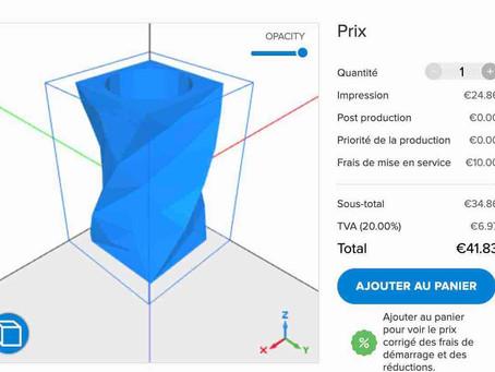 Entreprise ou particulier? Votre devis en ligne d'impression 3D sur Toulouse