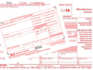 Tax Tip Tuesday: W-2 and 1099-MISC Due Date Changes for 2016