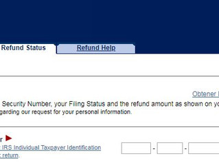 Tax Tip Tuesday: How to Check the Status of Your Refund