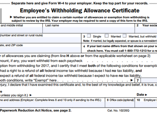 Tax Tip Tuesday: New Withholding Tables