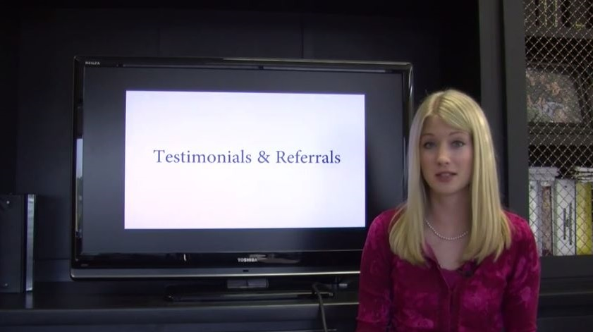 Testimonials & Referrals