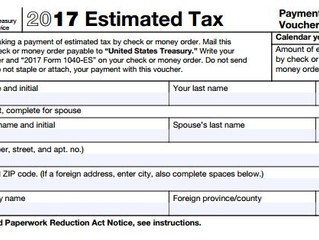 Tax Tip Tuesday: Quick Reminders