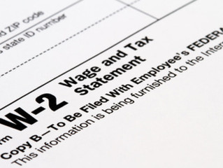 Tax Tip Tuesday: New Accelerated Due Dates for W-2 and 1099 Forms