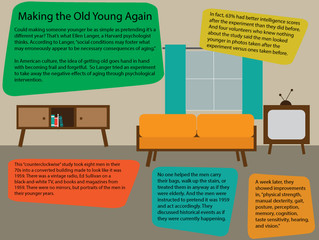 Future of Aging: Making the Old Young Again