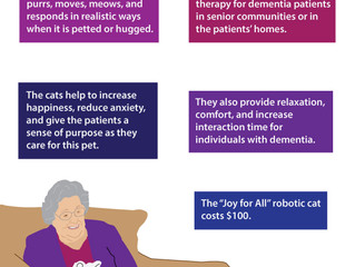 Future of Aging: Robotic Therapy Cats for Dementia Patients