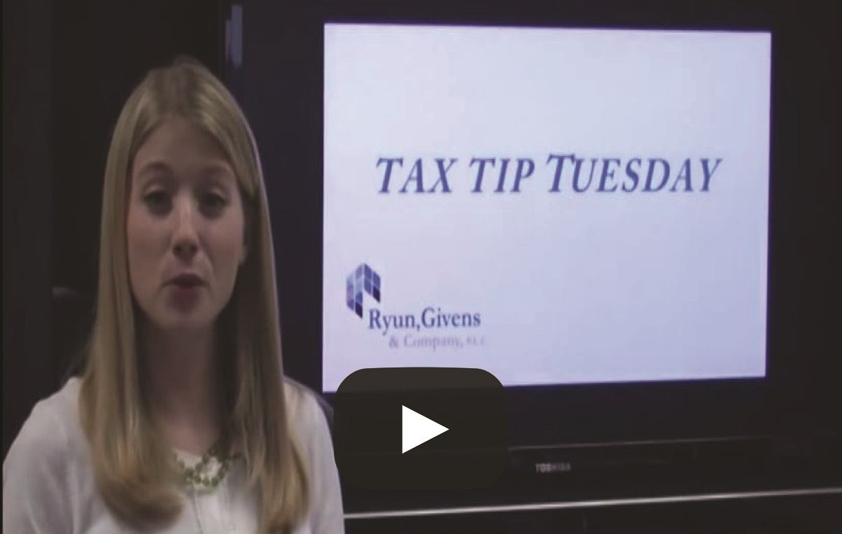 Tax Tip Tuesday