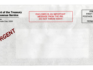 Tax Tip Tuesday: Getting an IRS Letter