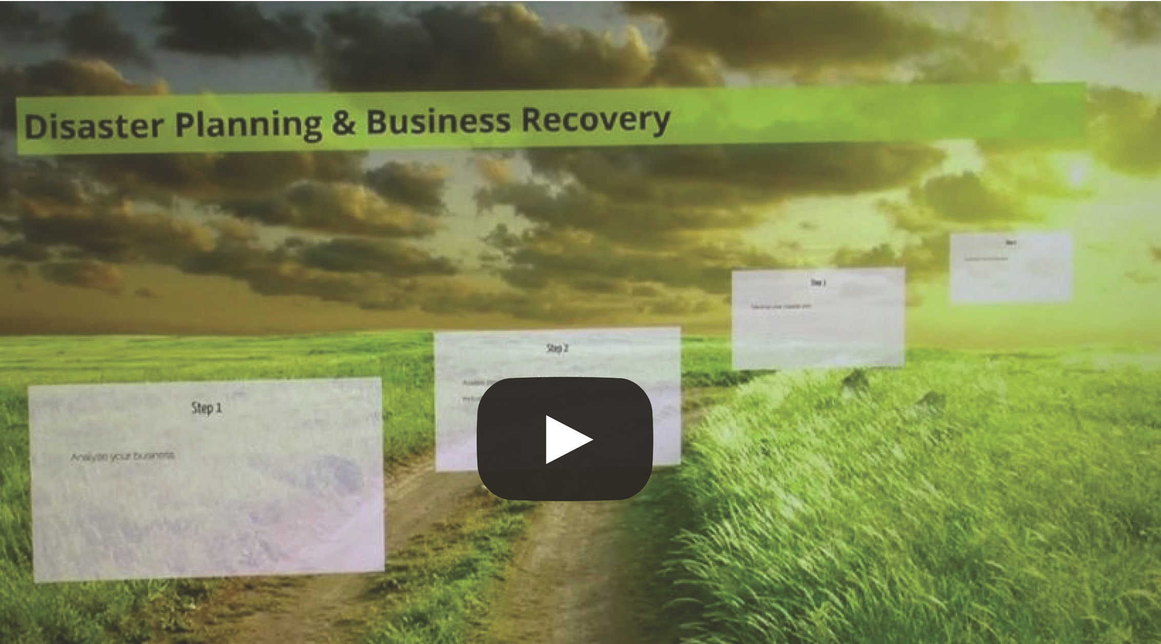 Disaster Planning & Business Recover