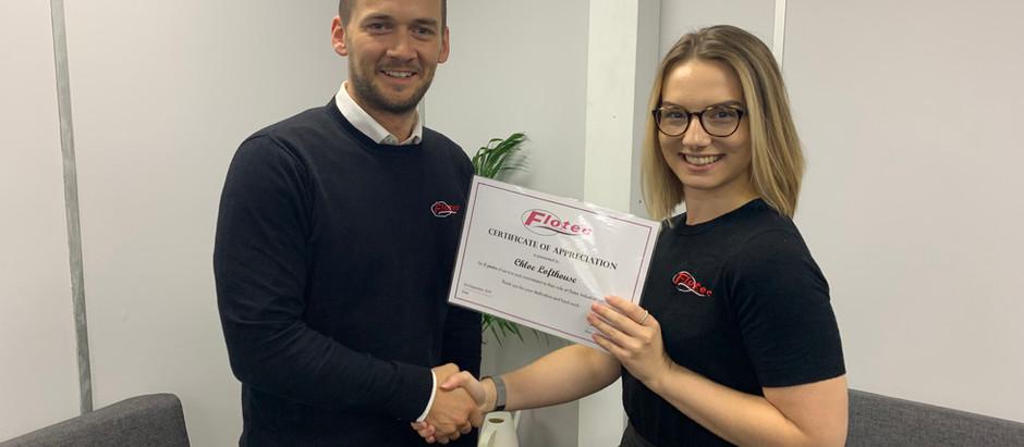 Flotec Introduce Employee Recognition Awards
