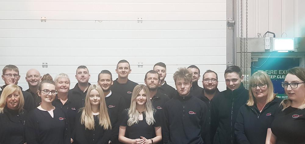The 2018 Flotec Team