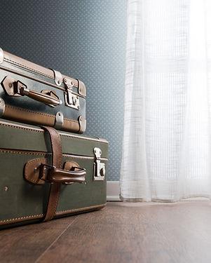 Vintage Luggage Stacked