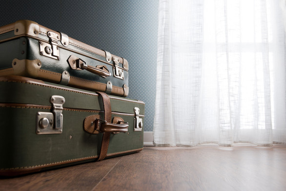 Vintage bagages Stacked