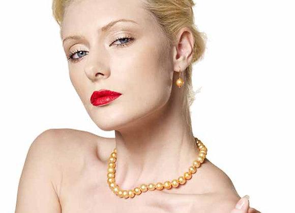 Perlen-Set Tosca (Collier, Ohrenhänger)