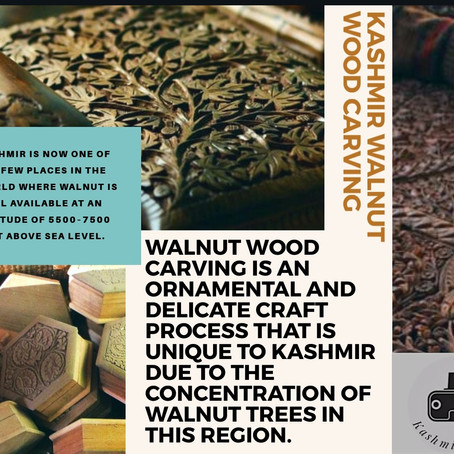 An endangered art: Kashmiri Walnut-wood carving