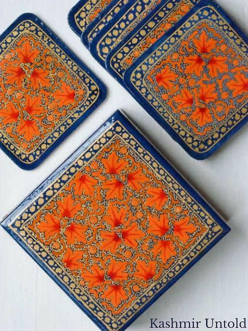 Papier Mache Coasters