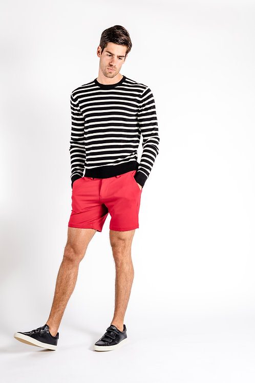 Luxe Leisure Short - Red