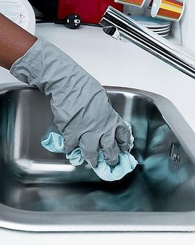 Limpeza pesada da cozinha