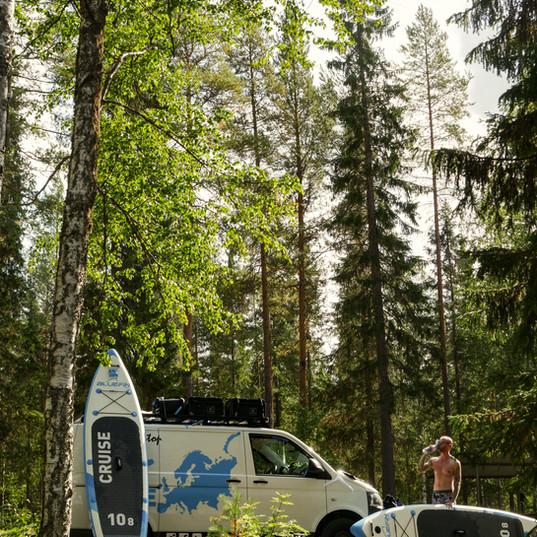 Finnland Wild Camping